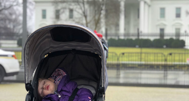 24 Hours in Washington DC with a Toddler