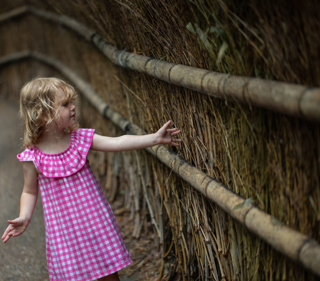 Olivia at Arashiyama Bamboo Grove | Family on Standby