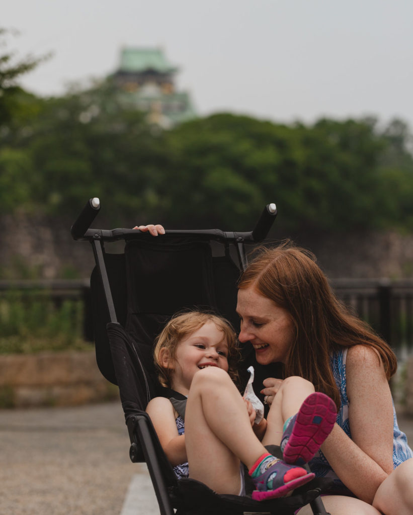 Osaka Castle | Osaka with Kids | Family on Standby