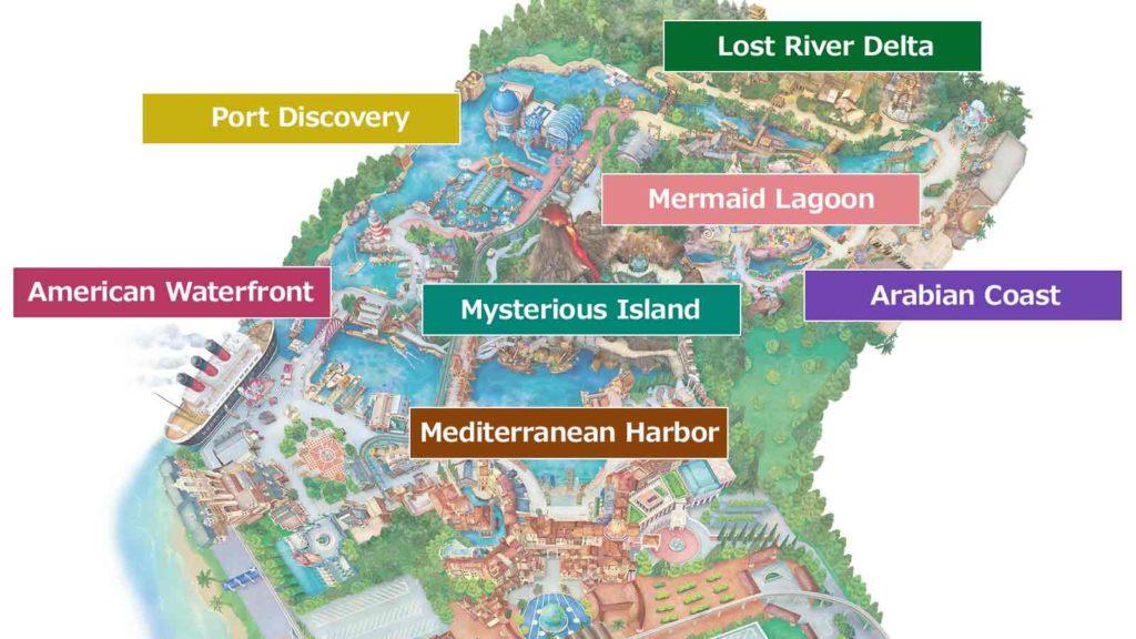 Disney park map