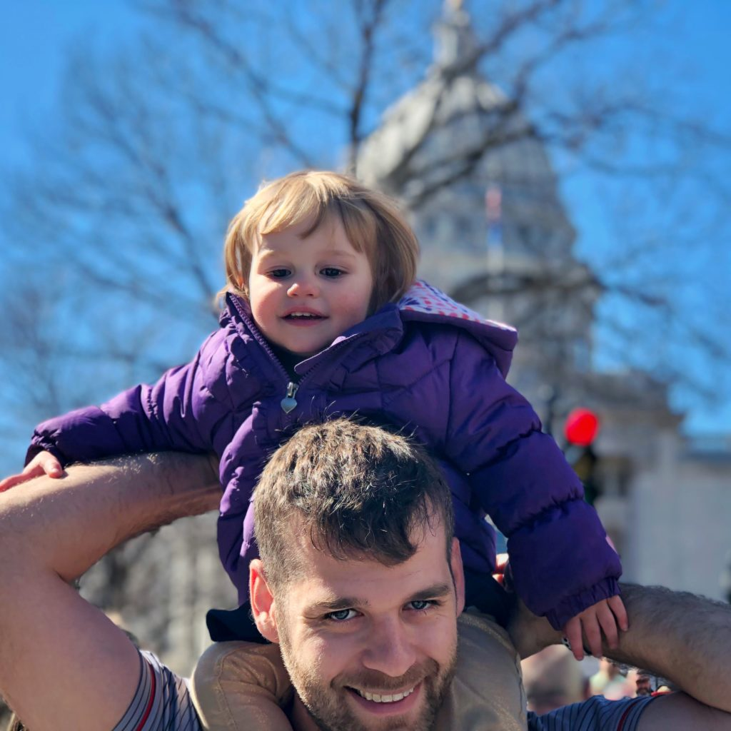 Two year old visiting Madison Wisconsin | day trips near Chicago