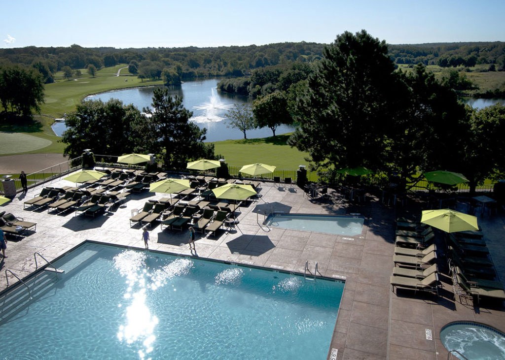 The view of Grand Geneva Resort | day trips from Chicago