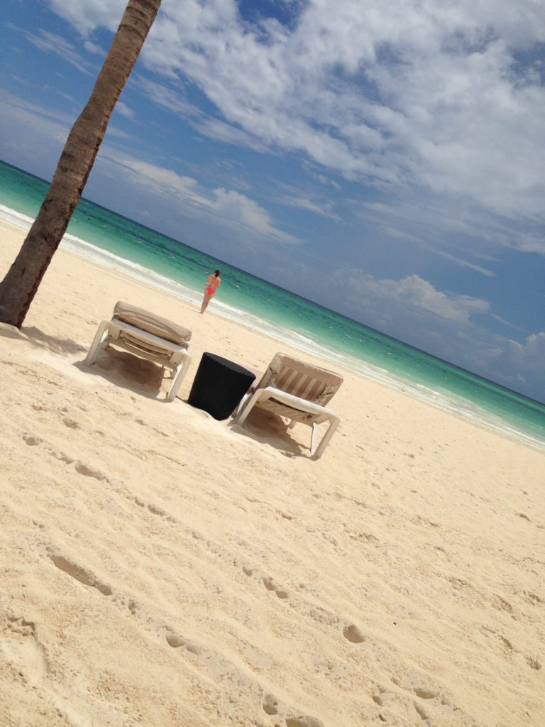 Beach at Secrets Maroma Resort in Riviera Maya   Cancun or Riviera Maya Resort