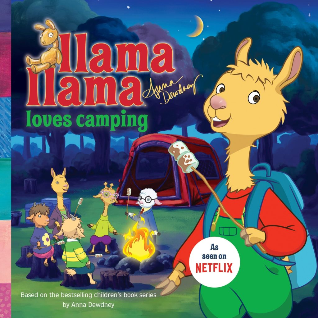 Llama Llama loves camping book for kids